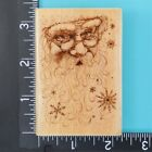 Santa Collage 3408F Christmas Rubber Stampede Wood Mounted Rubber Stamp