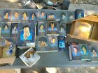 Lot of Vintage Roman Fontanini Nativity Collectibles with boxes 1990s 2000