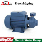 Water Pump 1 2HP Electric Clear Transfer Centrifugal Pool Pond 110V 60HZ 370W