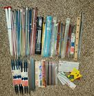 Giant lot of knitting needles 53 pairs 68 double point needles  accessories