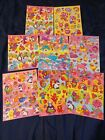 Vintage Lisa Frank Stickers lot of 8 FULL DIFFERENT STYLE EASTER Sheets