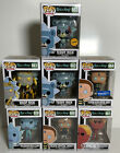 Funko Pop Rick & Morty Complete Set Of 7 659-662 w Chase & Wamart Exclusive