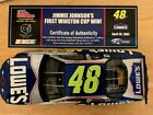 JIMMIE JOHNSON RACING CHAMPIONS DIECAST 1 24 2002 48 RACED FIRST WINSTON WIN