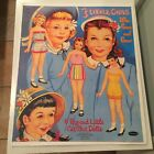 Vintage Whitman Paper Cut outs 3 Little Girls Who Grew and Grew 1959 UNCUT