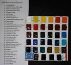 Mijello Mission Gold PURE PIGMENT Watercolor SAMPLE SET ONLY 34 Great Colors