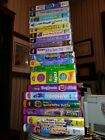 Lot 20 Barney VHS ZOO CONCERT SING SCHOOL BUS CIRCUS MANNERS Halloween colors