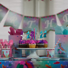 Mermaid Birthday Party Decorations for Girls Happy Birthday Supplies Under The