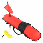 Inflation Torpedo Buoy Diving Ball Signal Float Ball Flag Durable For Outdoor