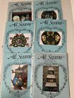 All Seasons Designs by Rosemary West Lot of 6 Tole Painting Various Patterns