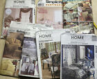 Vintage Sewing Patterns Home Projects Curtains Pillows Quilts Table 7
