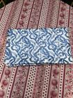 Colefax and Fowler Blue White Bow Ribbon Glazed Cotton Chintz Fabric 23 Yards