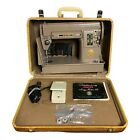 Singer 301A Sewing Machine With Case And Manual