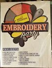Anita Goodesign Machine Embroidery Patterns Embroidery Party + Book