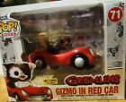 Funko Pop Rides Gremlins Gizmo In Red Car 71 Hot Topic Exclusive Vinyl Figure
