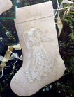 1995 Dimensions 16 SNOWFLAKE DREAMS ANGEL Stocking Crewel Embroidery Kit NEW
