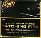 THE HUNGER GAMES CATCHING FIRE TRADING CARDS FACTORY SEALED BOX 24 PACKS