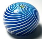 Large St Louis 1971 Limited Edition Swirl Crown Paperweight