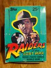 RAIDERS OF THE LOST ARK (TOPPS, 1981)...UNSEALED WAX BOX W 36 UNOPENED WAX PACKS