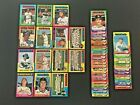Lot of 49 1975 Topps Baseball Cards Stars Rookies Commons EX NM Lot 1