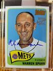 Warren Spahn Cards, Rookie Cards and Autographed Memorabilia Guide 6