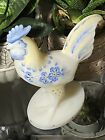 Fenton large Rooster Hand painted