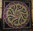 Very Nice Judy Niemeyer Coral Reef Pattern Quilt Top 99 x 99 approx
