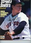 ROGER CLEMENS BOSTON RED SOX STREET  SMITHS MAGAZINE SIGNED AUTOGRAPHED BECKETT