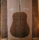 curly quilty oregon claro walnut tonewood guitar luthier set back sides
