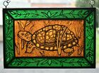 Stained Glass Hand Painted Kiln Fired Spotted Turtle 1202 09