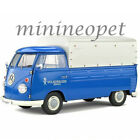 SOLIDO S1806702 1950 VW VOLKSWAGEN T1 PICK UP TRUCK with TOP 1 18 DIECAST BLUE