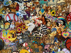 Mix Lot 100 patches iron on patch Sport skull birds flowers Animal heart spring