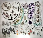 Vintage STERLING Silver Southwest Native BEAR Zuni AMBER Turq more Jewelry Lot