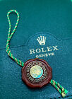 Genuine Rolex Swiss Officially Certified Chronometer Hang Tag Big Crown Hologram