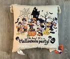 Disney Mickey Mouse  Friends Halloween Party Pillow NEW FREE SHIPPING