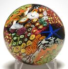 Peter Raos Magnum Pacific Series Blue Starfish Paperweight