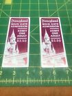 1966 Disneyland Complimentary Main Gate Admission Ticket 1960's