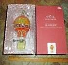 Hallmark 2019 Up Up and Away Wizard of Oz Hot Air Balloon Glass  Metal Ornament