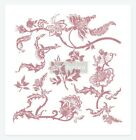 Distressed Floral Prints Clearly Aligned Decor Stamp Redesign With Prima