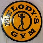 Golds Gym Female 3D routed wood sign sports bar Gold Custom