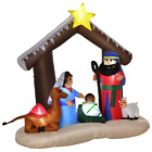 Nativity Scene Outdoor Yard 6 ft Christmas Inflatable Decorations Clearance Sale