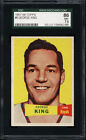 1957-58 Topps #6 George King SGC 86