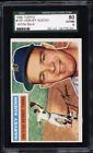 1956 Topps #155 Harvey Kuenn White Back SGC 80