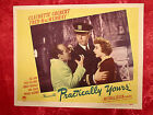 PRACTICALLY YOURS (1944) CLAUDETTE COLBERT/FRED MACMURRAY #1 ORIGINAL LOBBY CARD