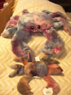 Ty Beanie Baby & Buddy Claude & Digger the crabs  shellfish MWMT