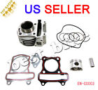 GY6 50cc Cylinder Body Piston Gasket Ring Set Kit Scooter Moped Taotao Jonway