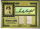 SANDY KOUFAX 05 PRIME CUTS AUTO GAME USED JERSEY # 2 5