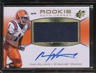 MIKE WILLIAMS 2010 SPX ROOKIE JERSEY 375 AUTOGRAPH