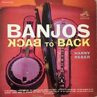 HARRY RESER: Banjos Back to Back (US RCA Victor LSP-2515 Living Stereo)