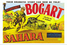 Humphrey Bogart in Sahara 24x36on Canvas Movie Poster