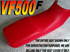VF500F 1984-86 Replacement seat cover for Honda Interceptor VF500 Red 197a